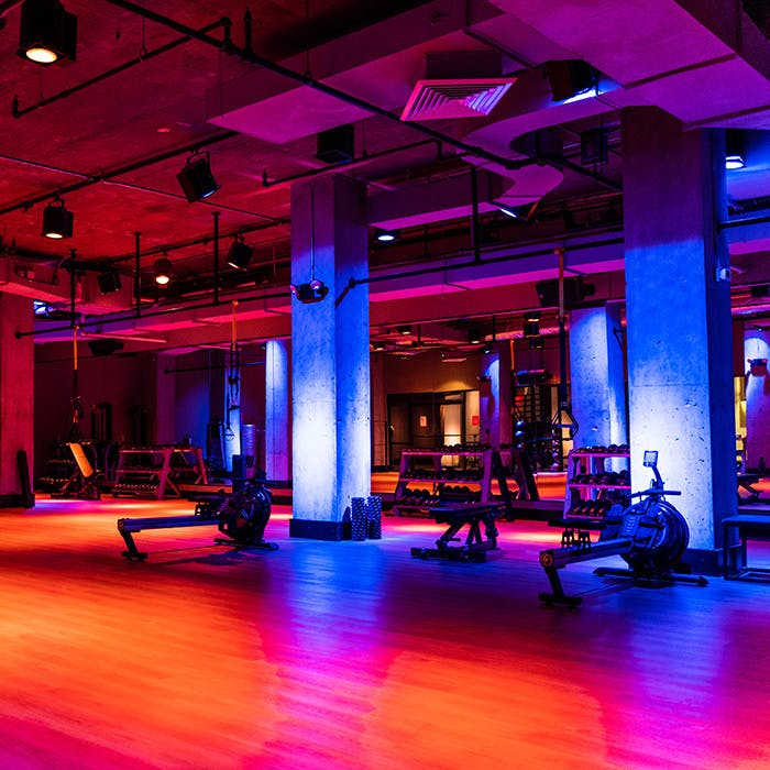Group Exercise Studio at TMPL