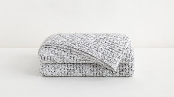 Tuft & Needle Fog Throw Blanket