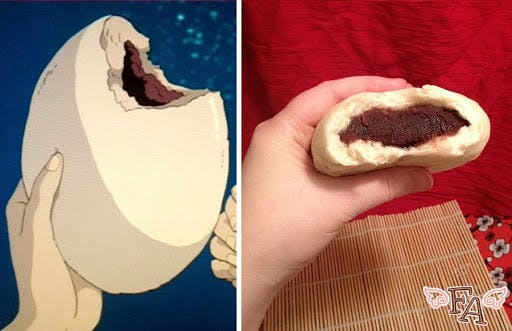 Real life Japanese snacks from Spirited Away