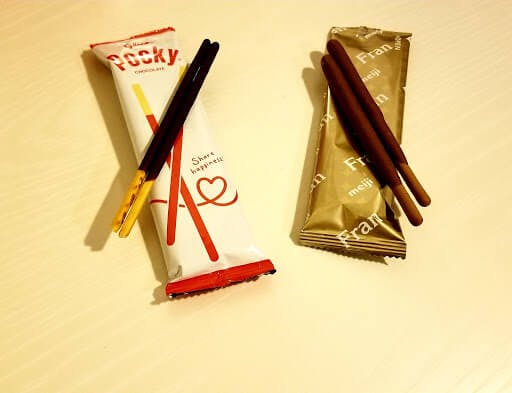 Pocky and Fran Japanese snacks