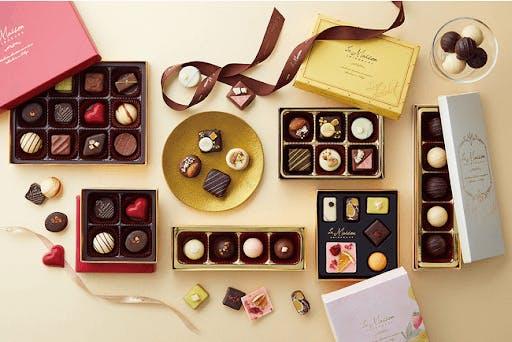Japanese Valentine's Day chocolates