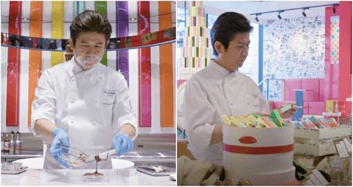 Yasumasa Takagi is the brilliant pastry chef behind Japan's Kit Kat Chocolatory