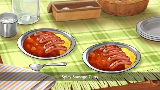 Pokemon Sausage Curry