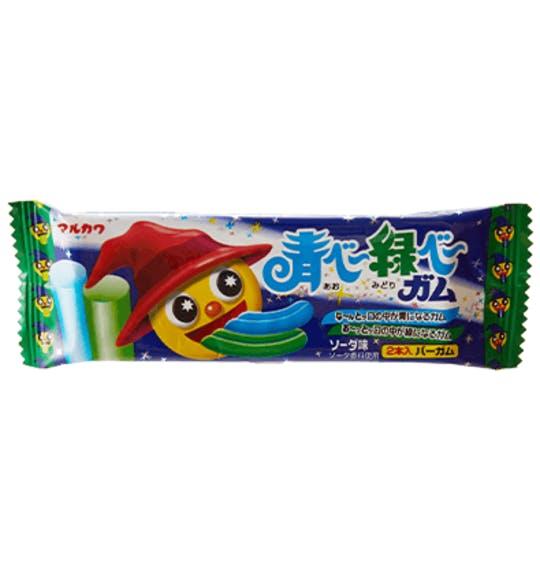 1e4f8417d714435bb1cc48e91f71b698a99bdd11 blue green soda gum