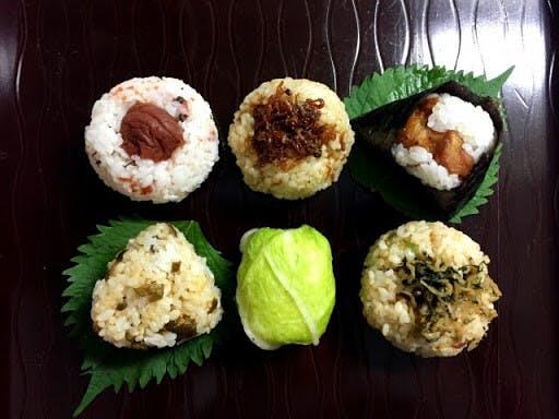 Japanese riceballs, onigiri
