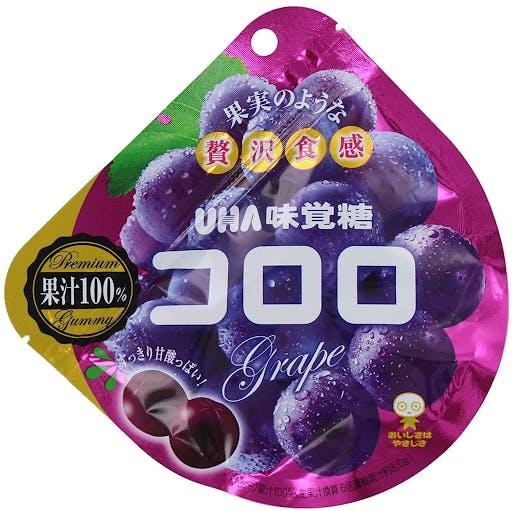 Japanese grape flavored gummies