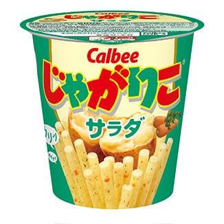 Japanese potato snacks Jagariko. Image: Calbee