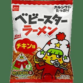 Baby Star Ramen is a popular Japanese snack