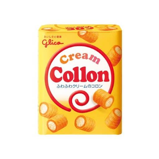 Cream collon Japanese snacks