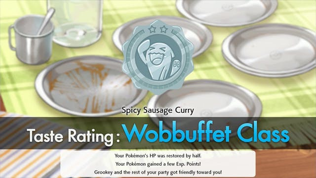 Pokemon Curry Class System