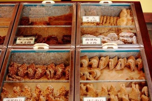 a traditional japanese snack shop called dagashi-ya