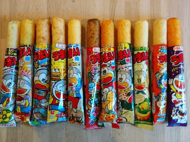 japanese junk food snacks Umaibo