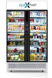 A Japanese vending machine that is operated with AI technology.