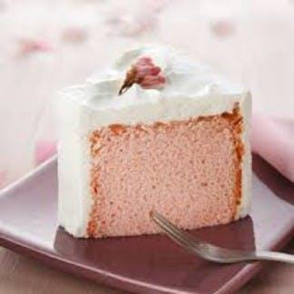 Starbucks Japan sakura chiffon cake
