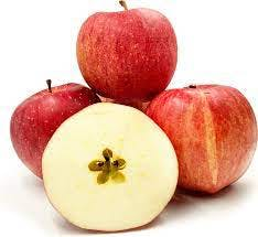 Several Japanese Sekai Ichi Apples, one of the most expesnive fruits in Japan.