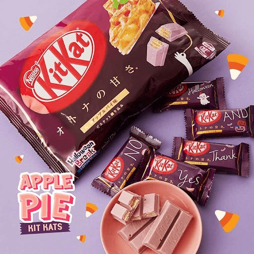Apple Pie is just one example of the many flavors of Japanese Kit Kats