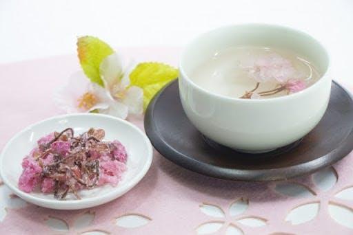 Japanese sakura tea