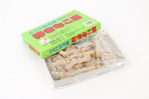 Bo-Kinako Ataru is a Japanese snack. If the end of the stick is red - you get another package for free!