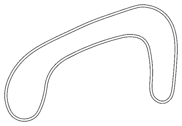 Map of Brands Hatch Indy