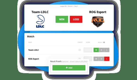 Informes de resultados de participantes