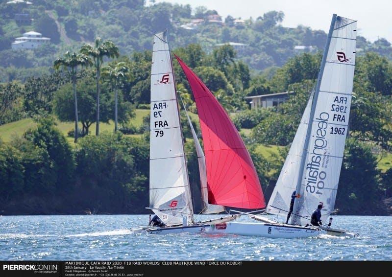 Cata raid en Martinique