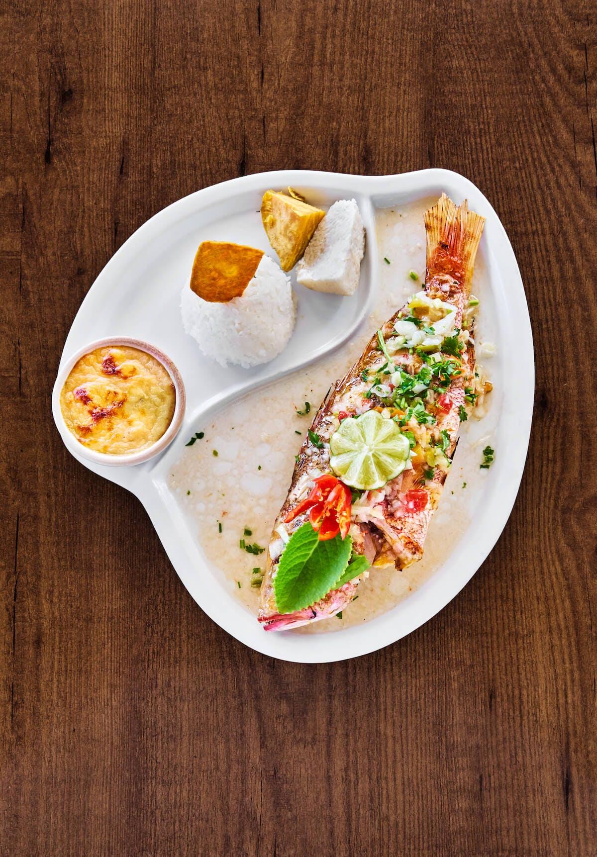 plat typique restaurant Martinique