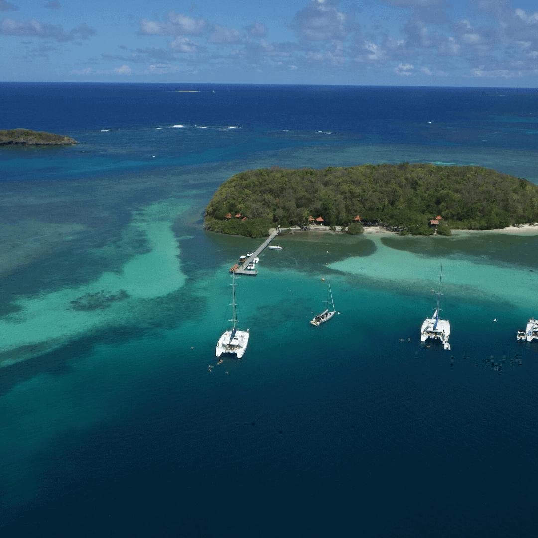 Ilet en Martinique