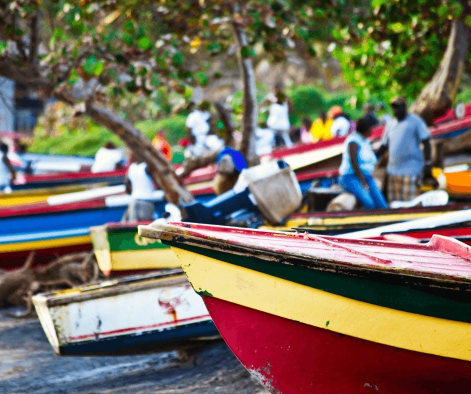 Bateau de peche Martinique pour la peche aux gros