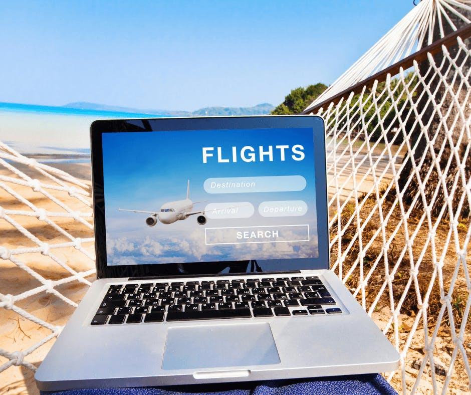 Billet d'avion pour la plage en Martinique