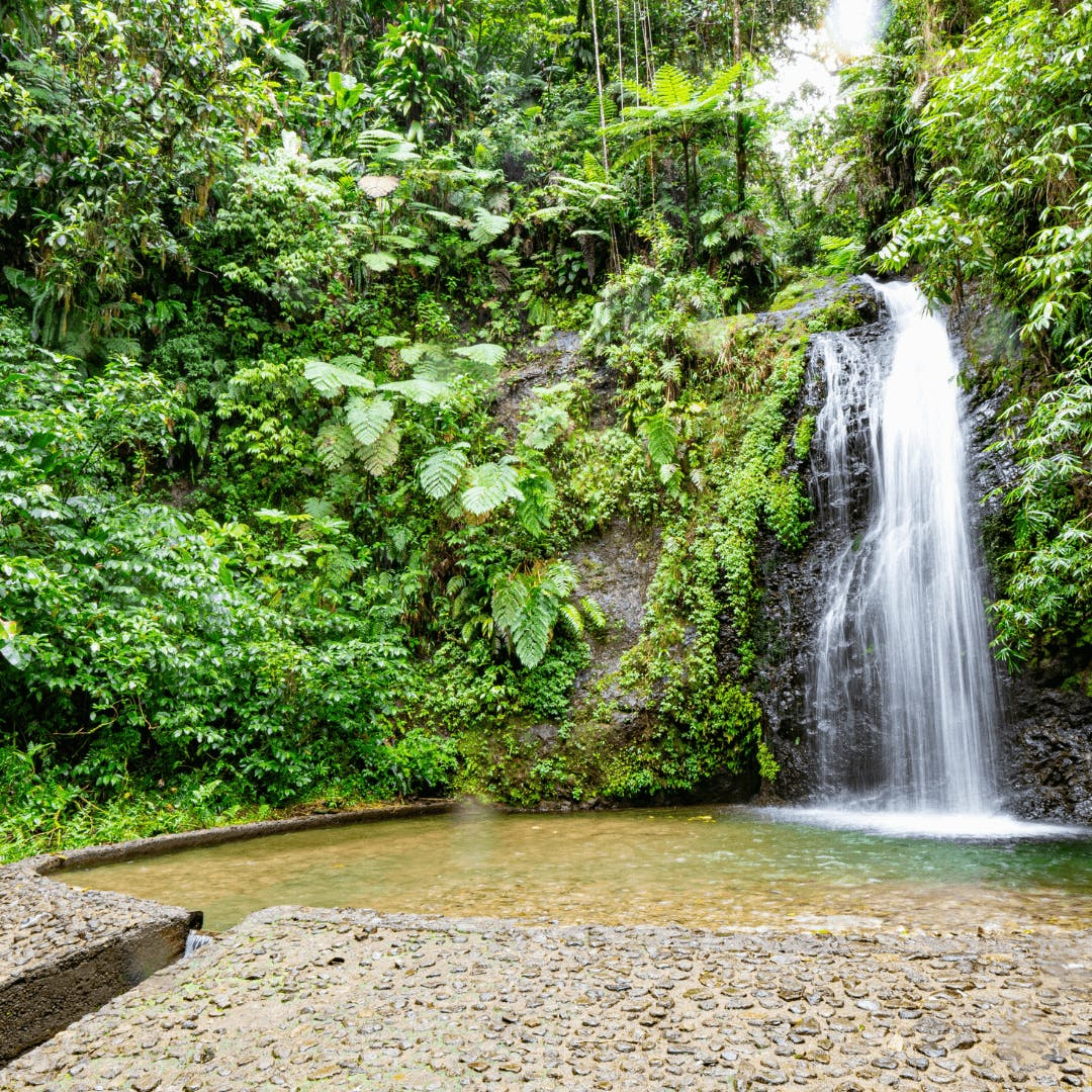Photo de la cascade Saut Gendarme
