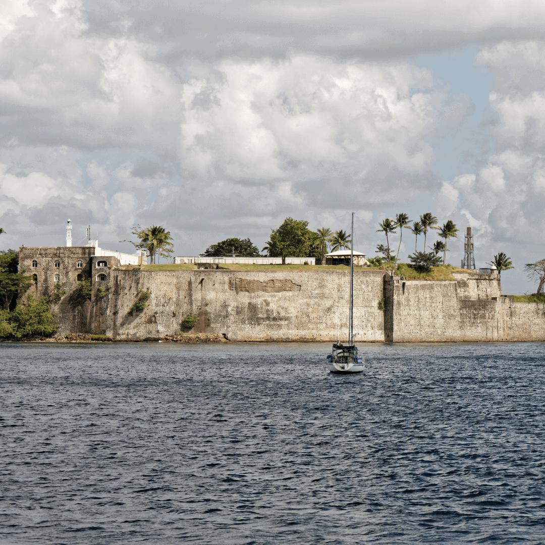 Fort Saint-louis à Fort-de-France