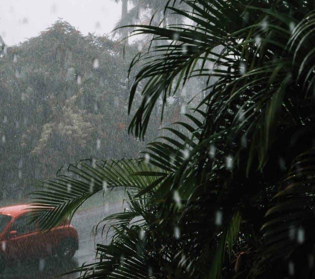 La martinique quand il pleut