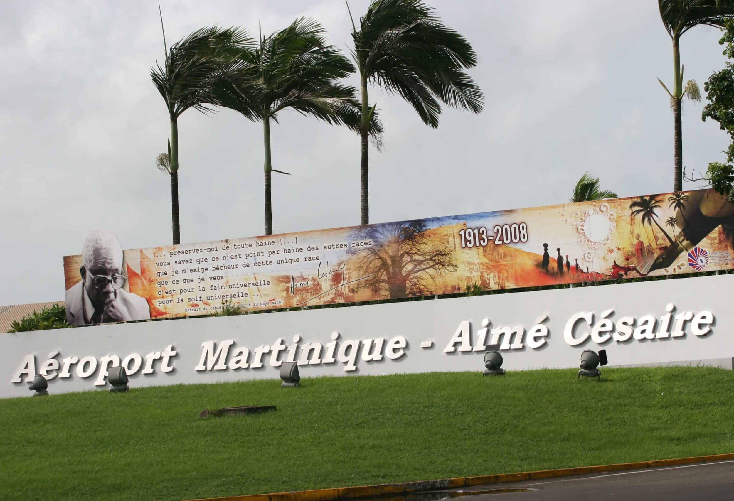 Ront point de l'aéroport Martinique - Aimé Césaire