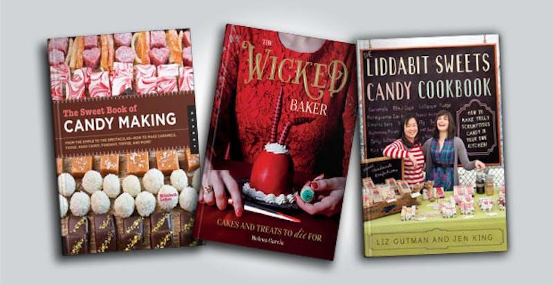 Three cookbooks