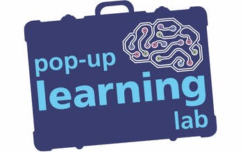 pop-up learning lab suitcase