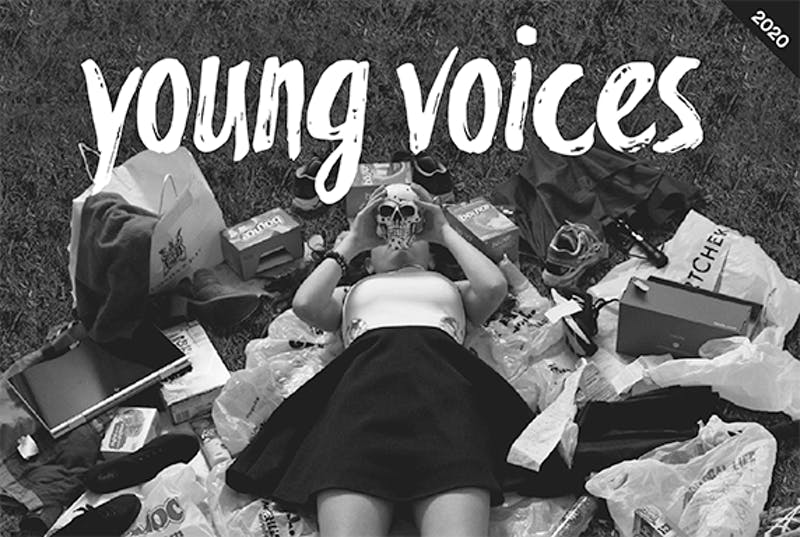 Young Voices Magazine cover