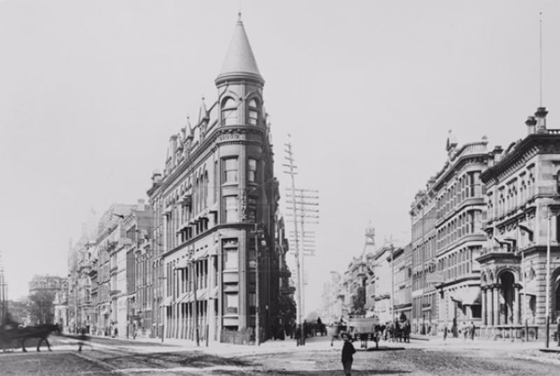 Old image of Toronto