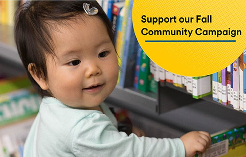 Support our Fall Community Campaigns