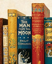 Ornate book spines