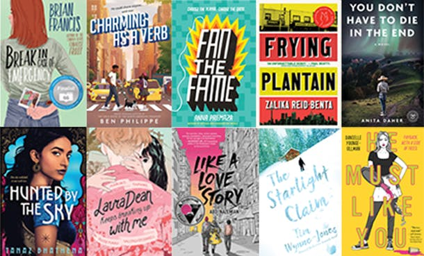 Book covers - White Pine Award nominees