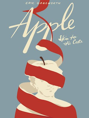 Apple, skin to the core