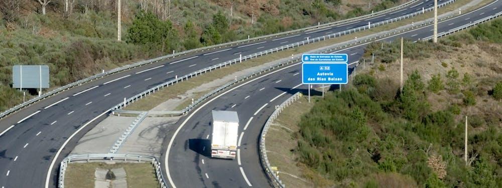 Wegtransport Spanje & Portugal