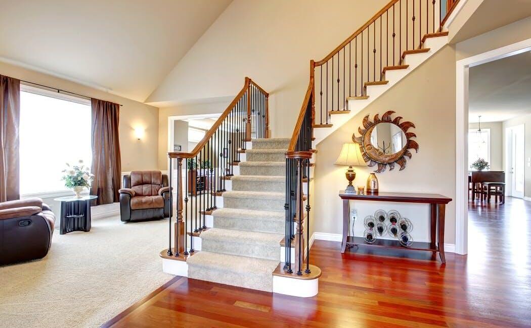 Escaliers rénovés