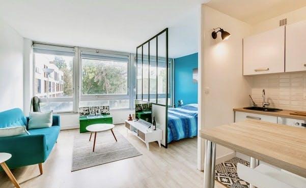Rénovation studio paris cloison petits espaces