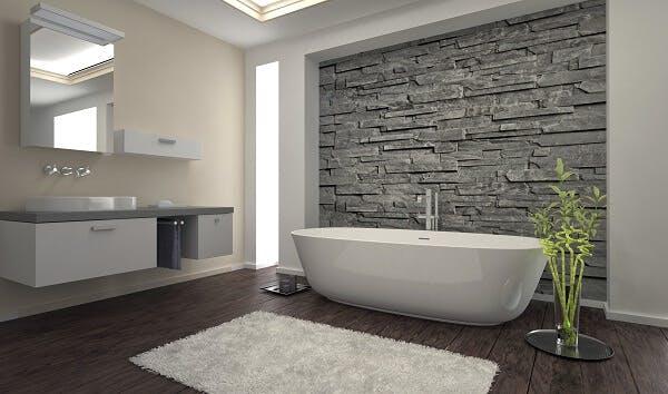revêtement sol salle de bain