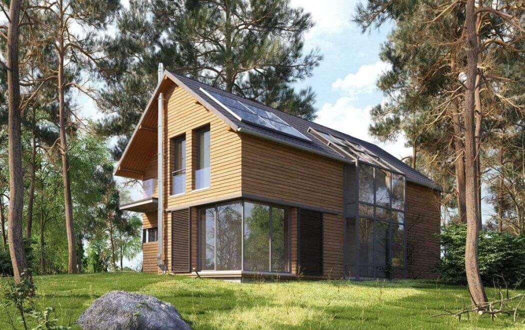 Maison ecologique - definition