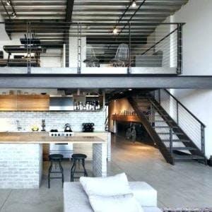 Transformation appartement années 50-80 en loft