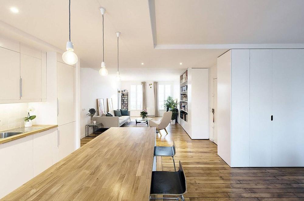 Rénovation d'un appartement de 100 m² à Paris 11 (75011)