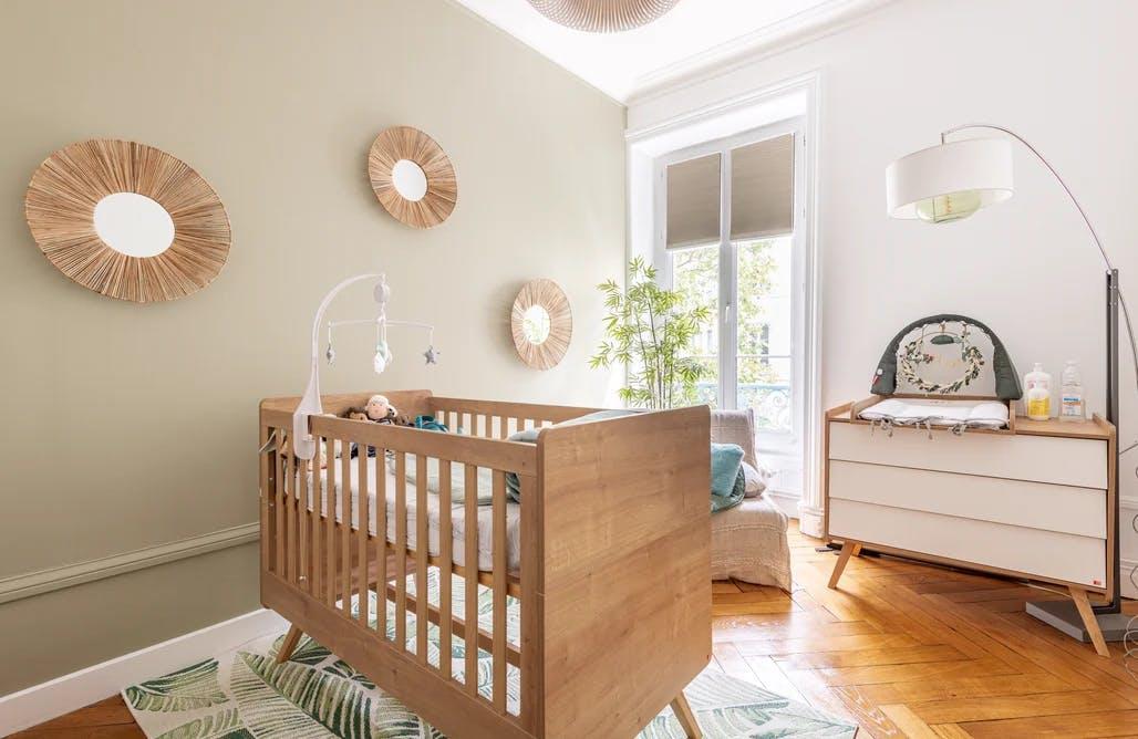 chambre bébé refaite à neuf
