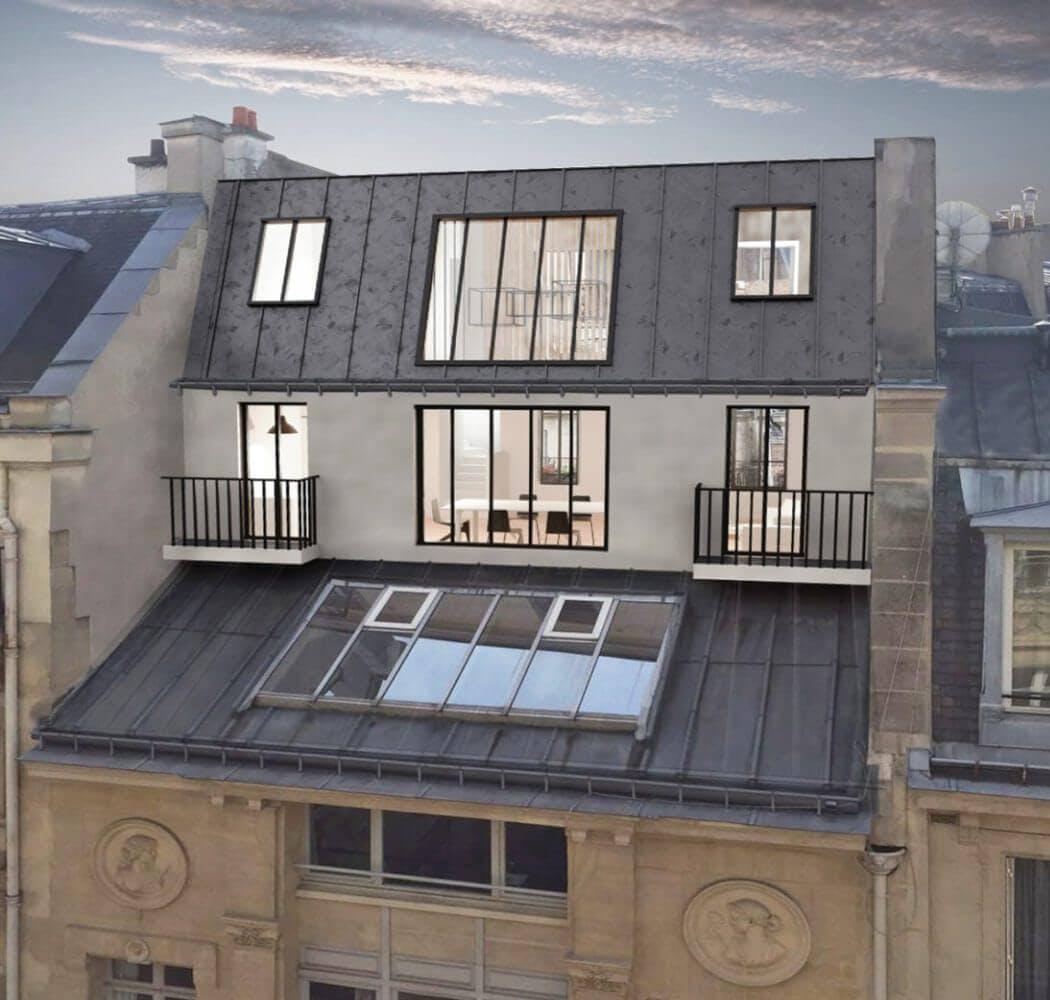 Surelevation d'un immeuble parisien: quels avantages?